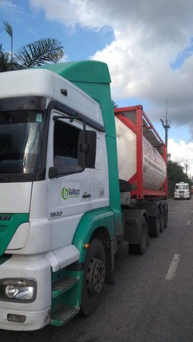 Transporte de Isotsank Galluzzi